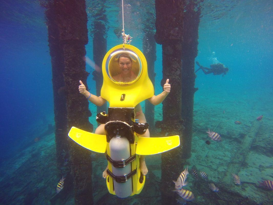 Solo travel for Valentine's Day: Aquafari on Curacao