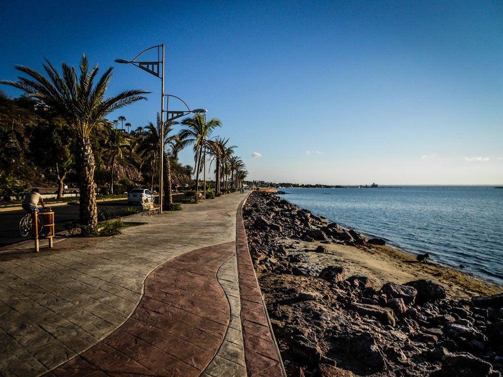Waterfront of La Paz, Mexico (Malecon)