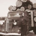 This Is What Logging Was Like in Quebec in the 1940s
