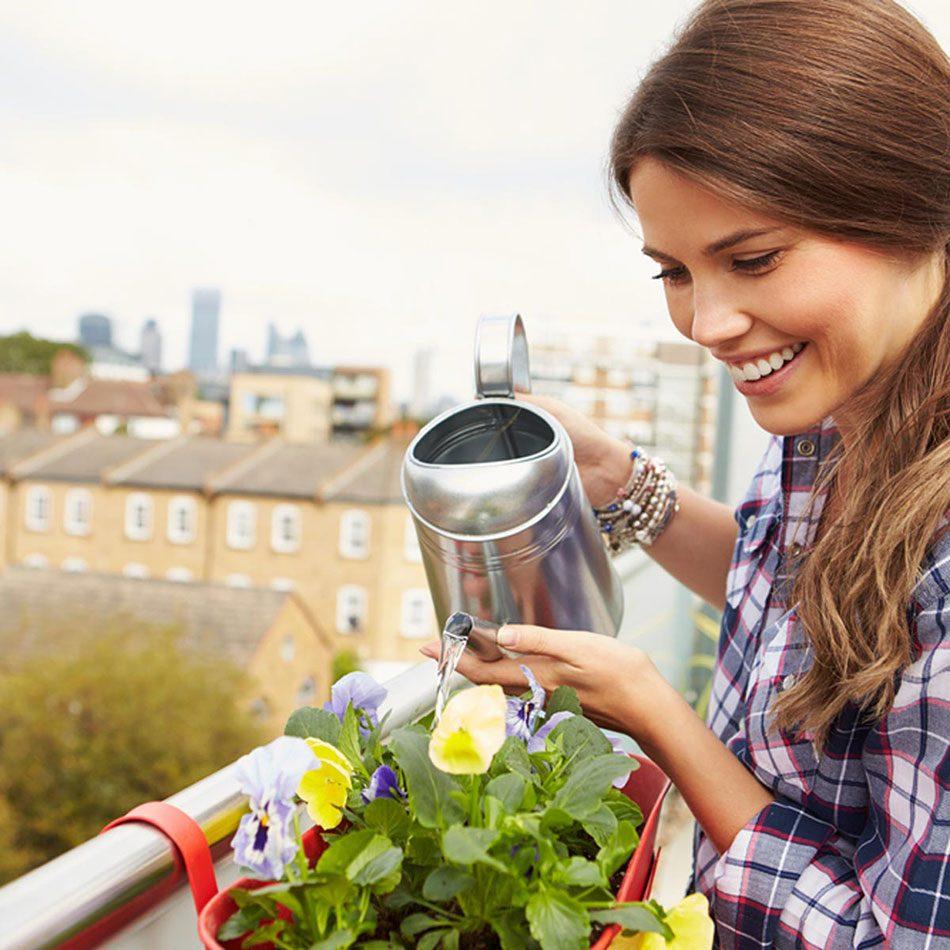 Urban gardening - apartment balcony