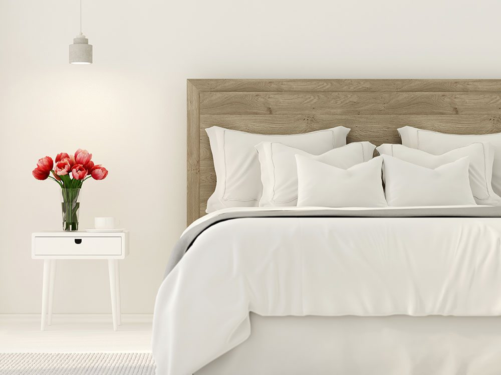 Uses for bleach - secondhand white bedding