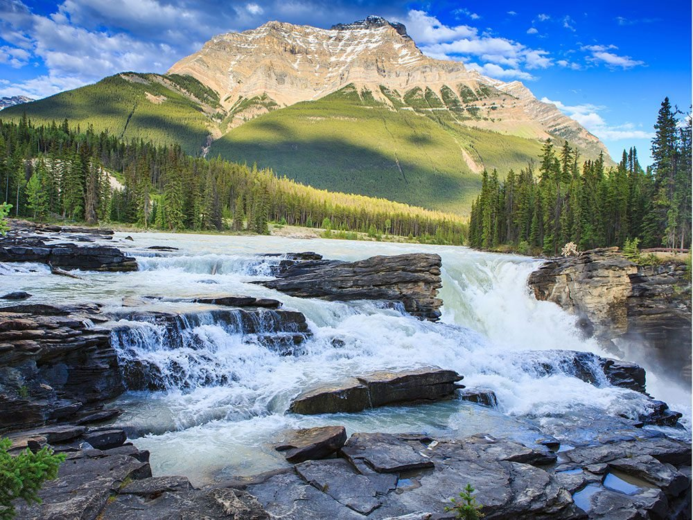 Waterfalls in Canada - Athabasca Falls
