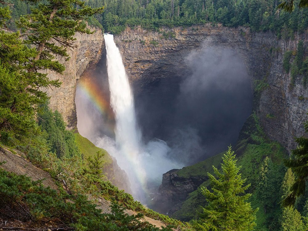 Waterfalls in Canada - Helmcken Falls