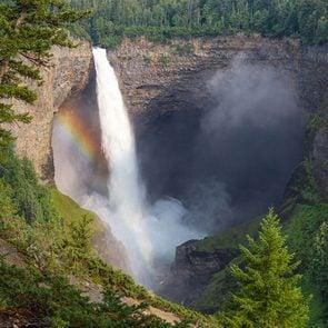 canada waterfall - Helmcken Falls