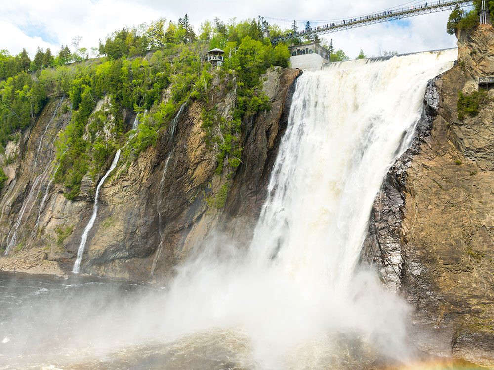 Waterfalls in Canada - Montmorency Falls
