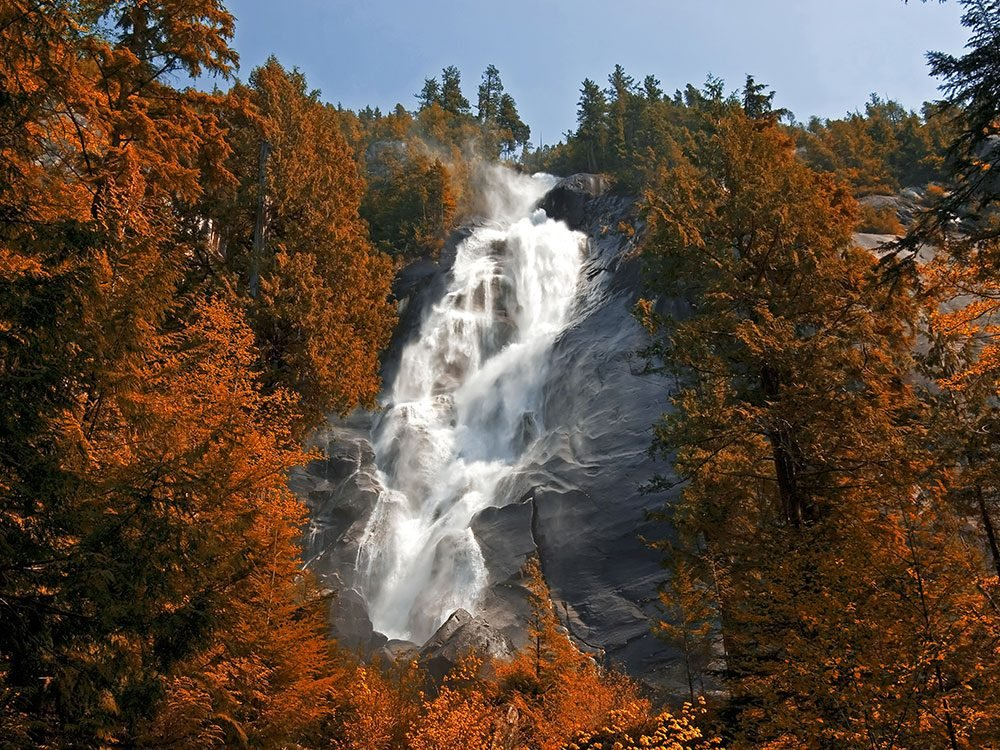 Waterfalls in Canada - Shannon Falls