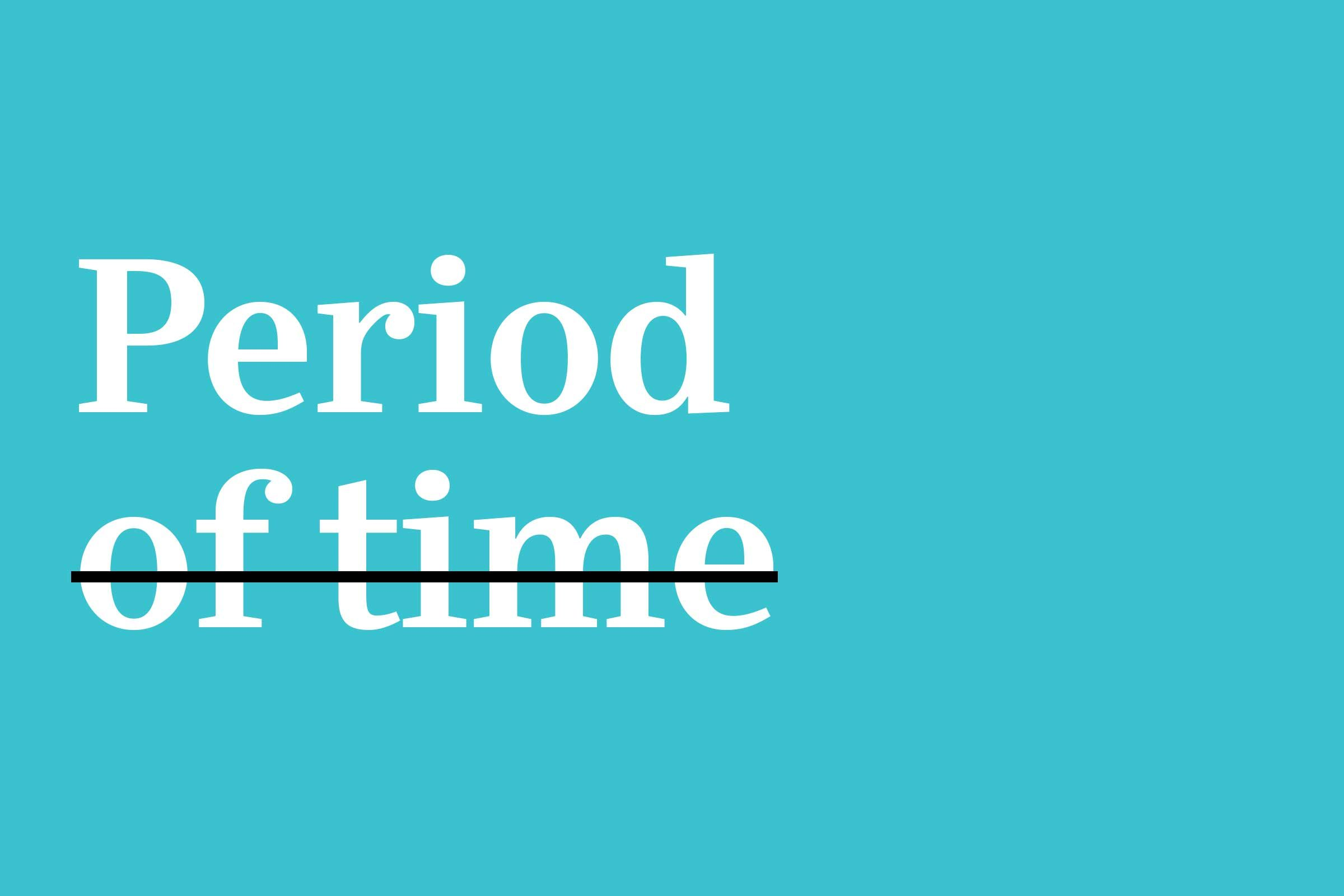 period of time