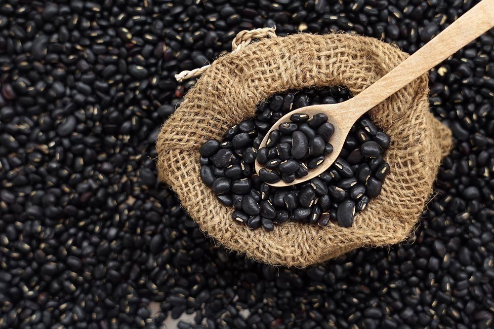 black bean in the sack