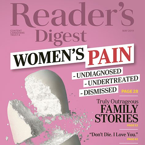 Inside the May 2019 Issue of Reader's Digest Canada
