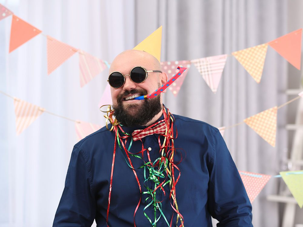 Birthday jokes - bald guy