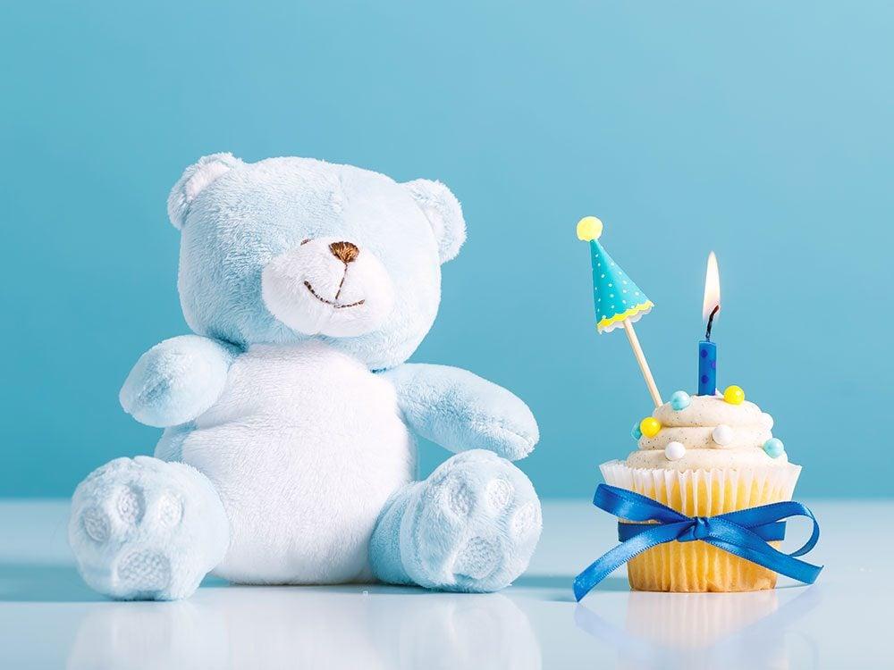 Birthday jokes - stuffed bear