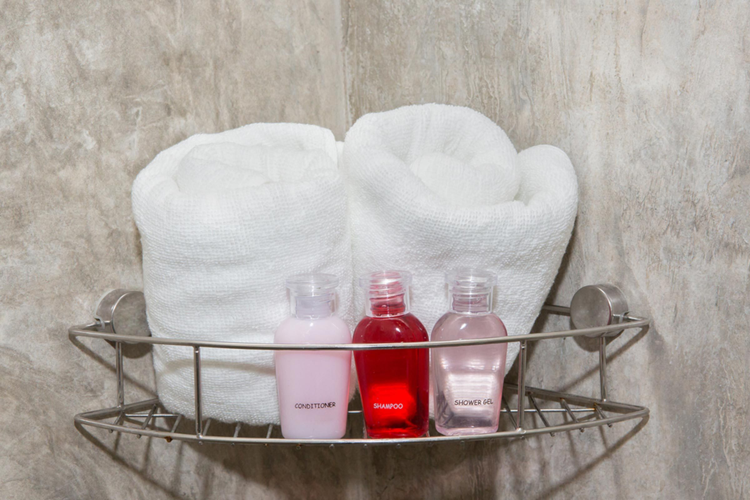 shower caddy soap
