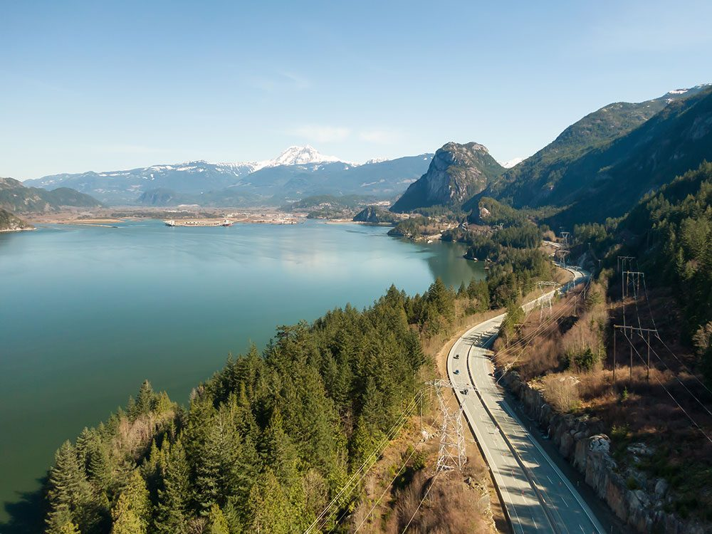 Canada Road Trip - Sea to Sky Highway Squamish BC