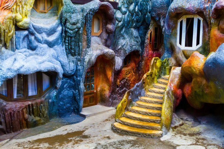 Crazy House, Dalat, Vietnam. - Dalat, Vietnam. November 19, 2015.