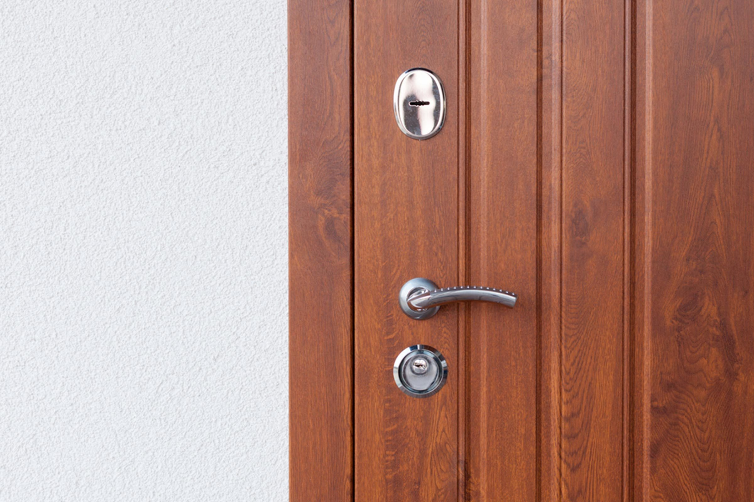 door frame wood handle