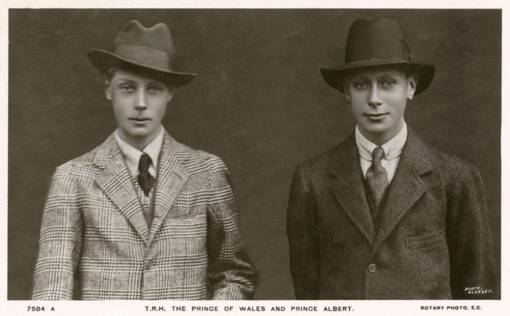 Edward, Prince of Wales and Prince Albert - British Royalty