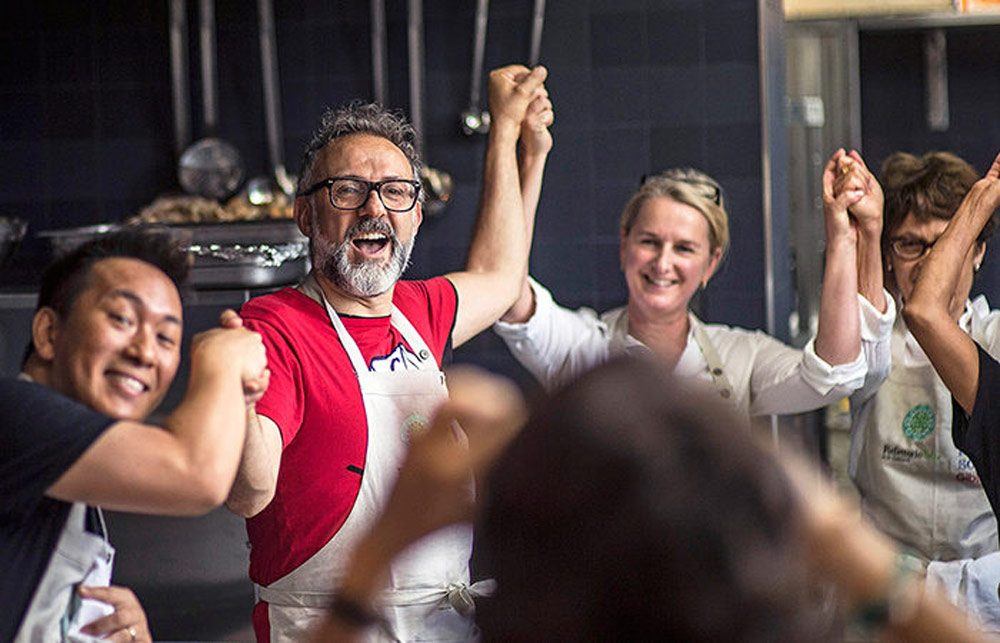 Chef Massimo Bottura cooking for the poor and homeless