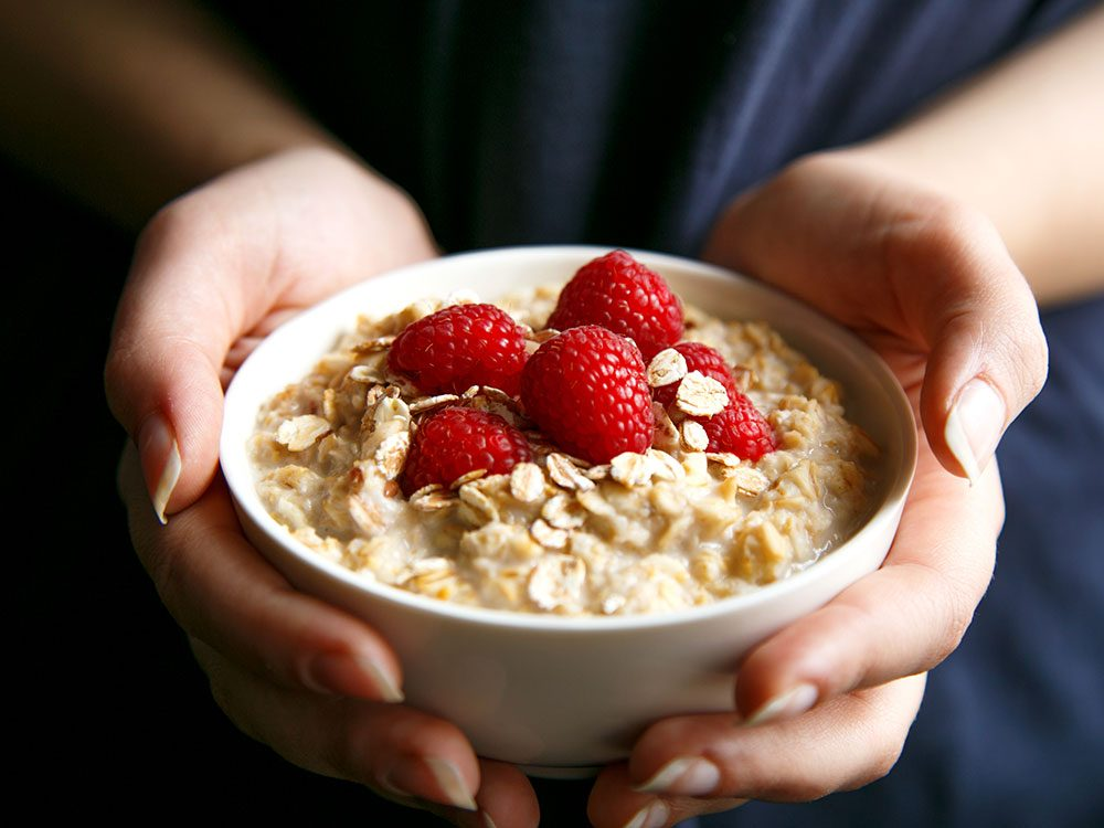Health benefits of oatmeal - keeps you regular
