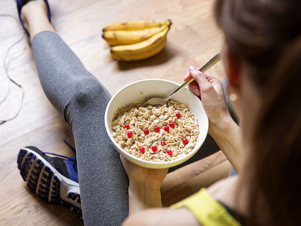 Health benefits of oatmeal - lowers blood pressure