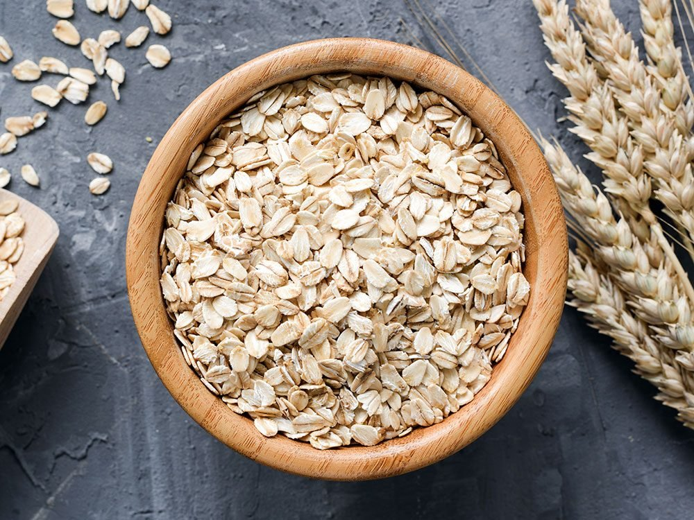 Health benefits of oatmeal - weight control