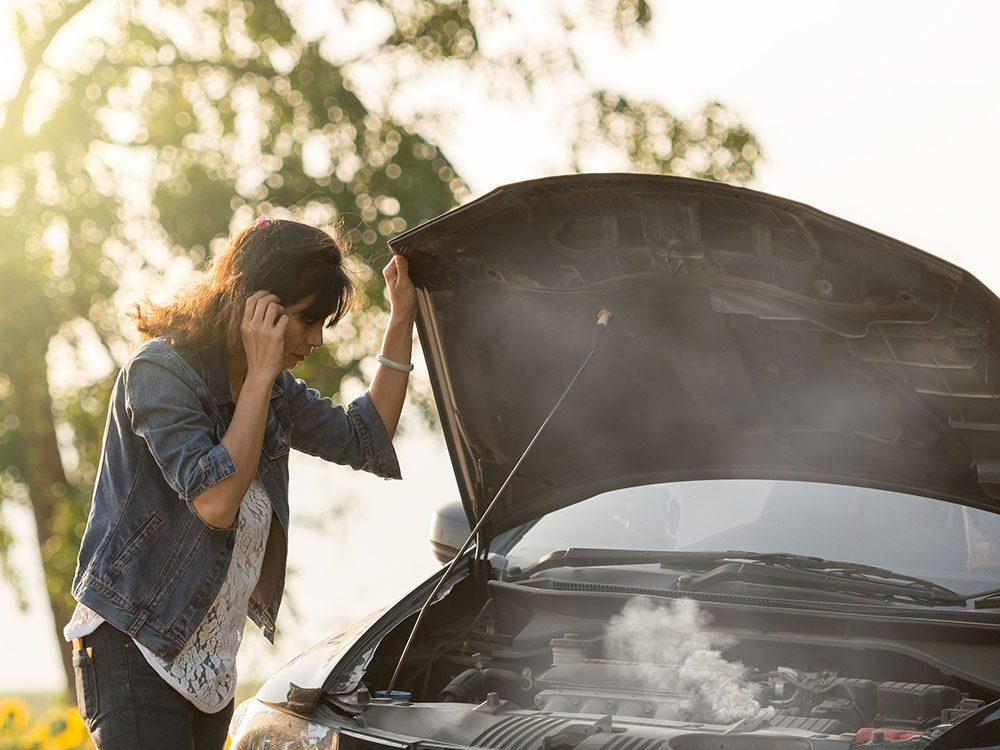 Heater hose repair - overheating car
