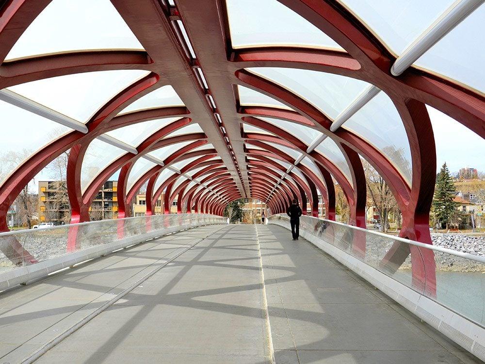 Peace Bridge in Calgary