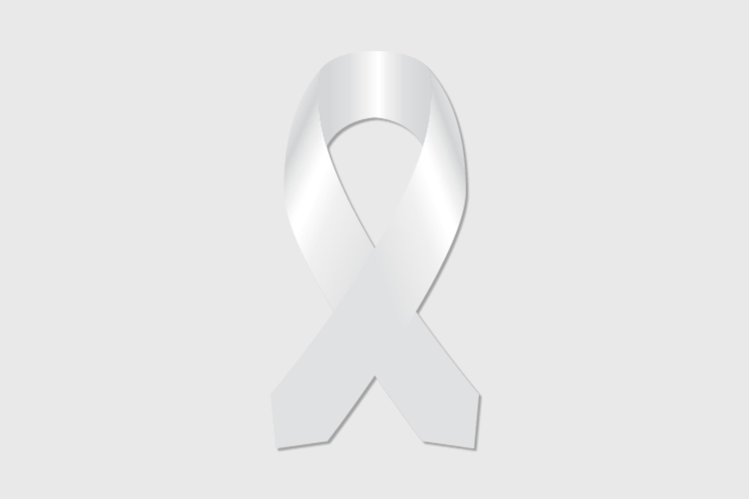 cancer ribbon lung