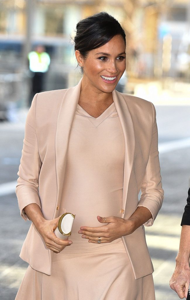 Meghan Duchess of Sussex visit to the National Theatre, London, UK - 30 Jan 2019