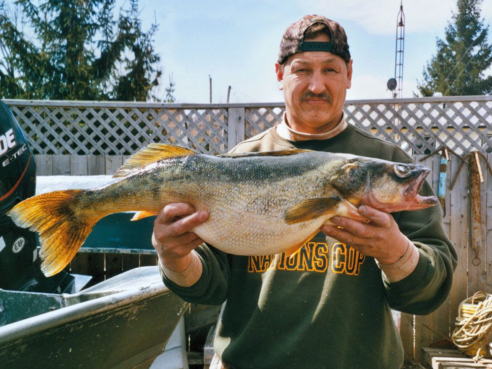 Mohawk fisherman Eric McComber