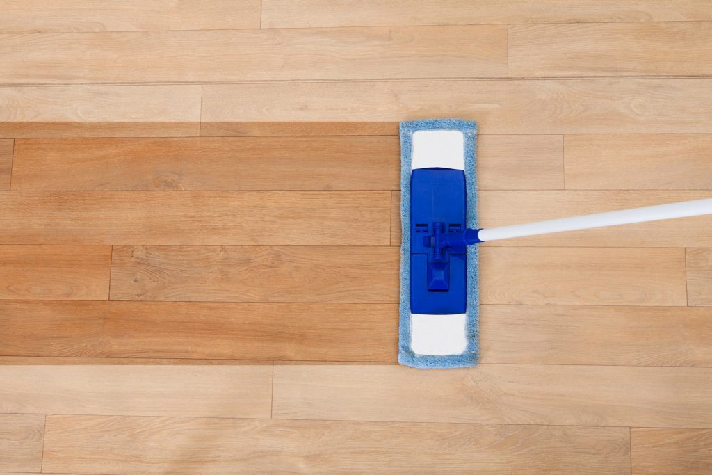 mop wood floor clean vinyl