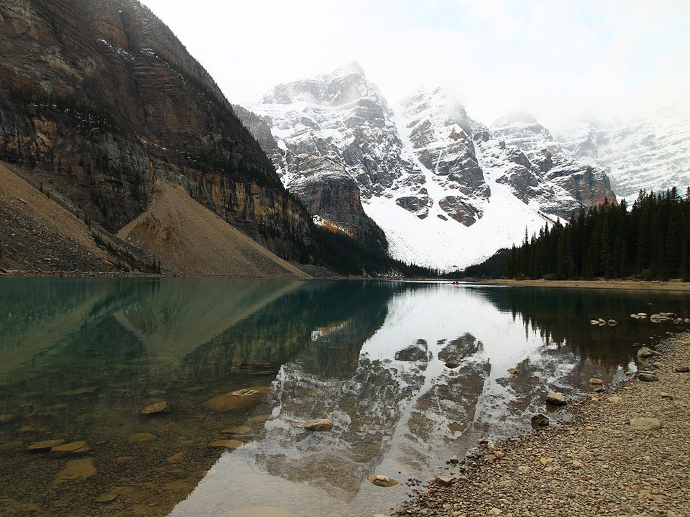Moraine Lake in Banff, Alberta