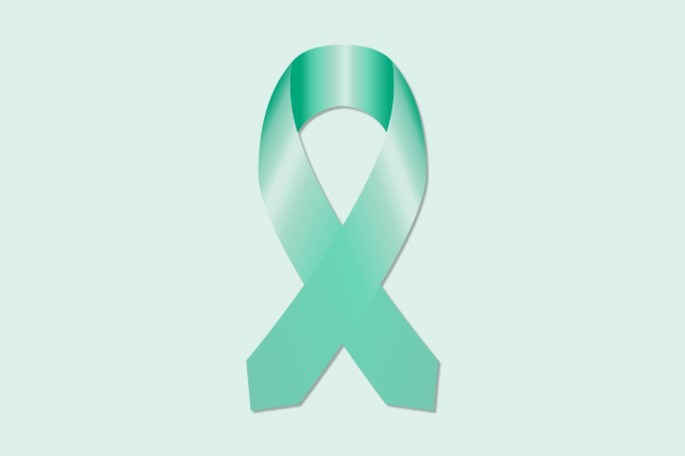 cancer ribbon ovarian