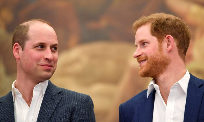 Prince William and Prince Harry attend the opening of the Greenhouse Sports Centre, London, UK - 26 Apr 2018