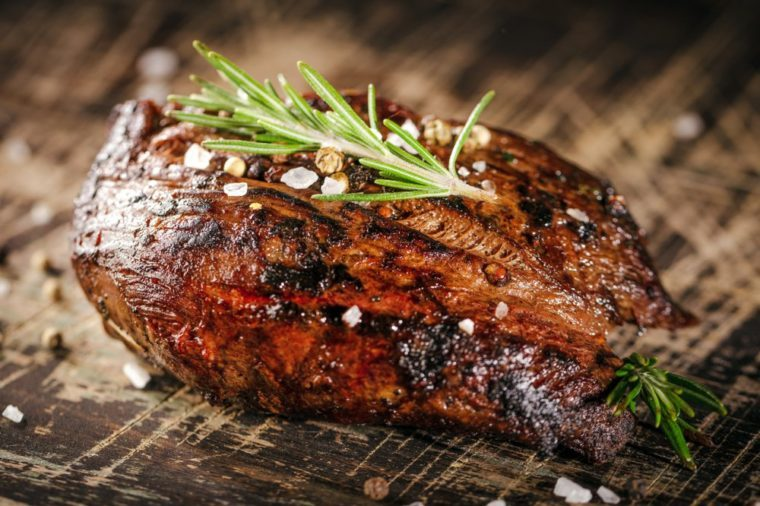 Fresh fillet steak