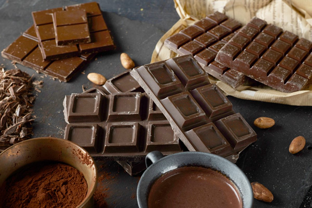 Chocolate can cure coughs