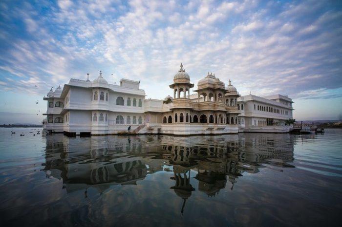 Lake Palace Udaipur at dawn