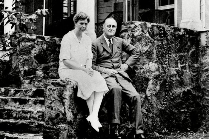 GOV. FDR ELEANOR ROOSEVELT, WARM SPRINGS, USA