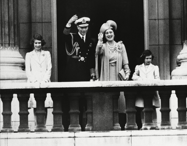 Royal Family Appear on Palace, London, Gbr Xen