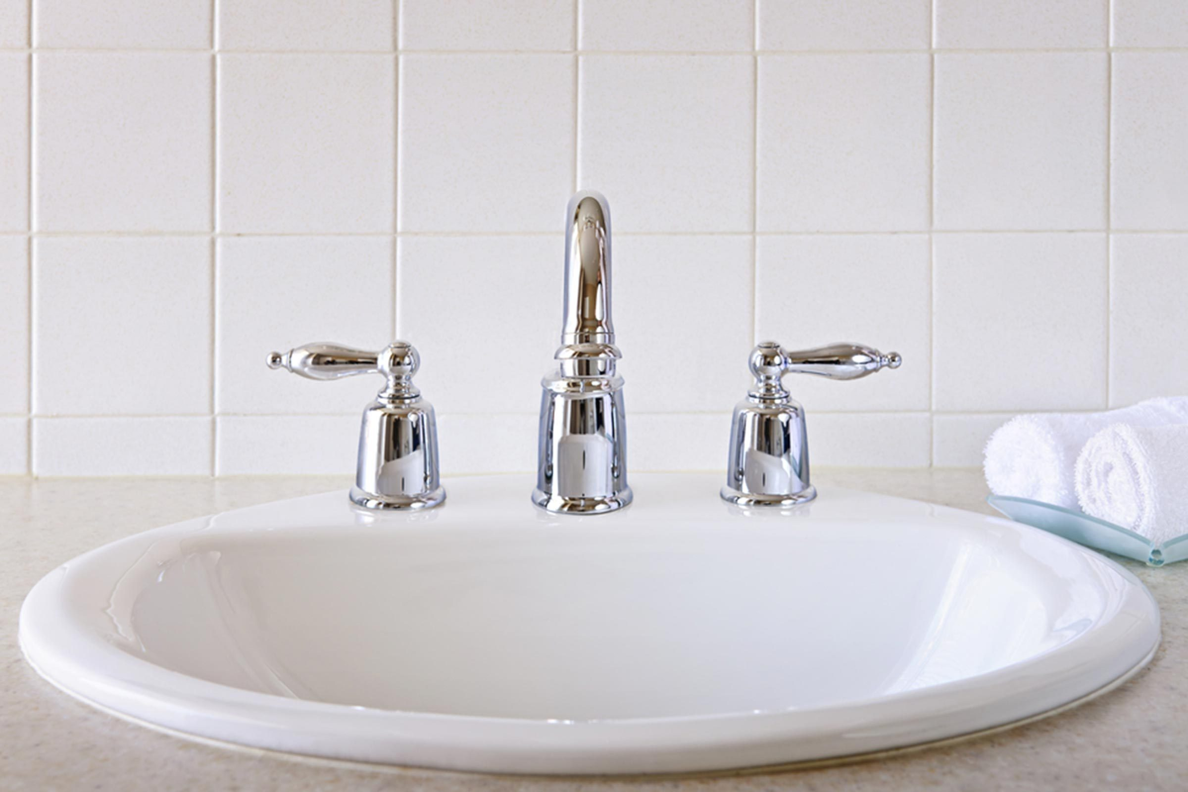 bathroom sink tap