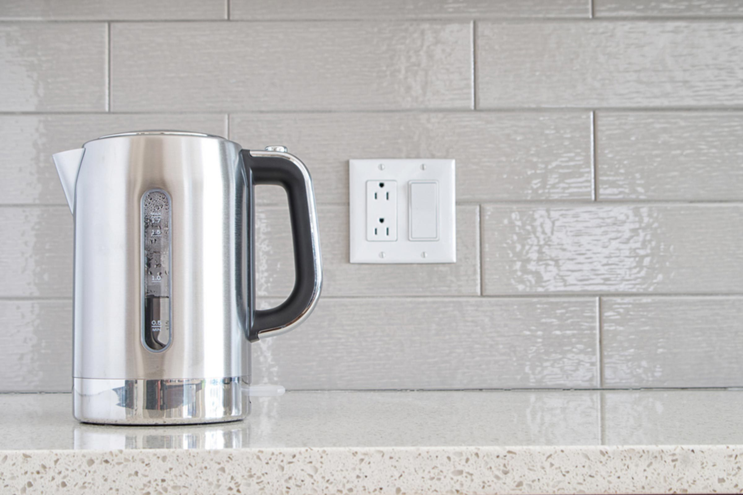 kitchen water tea steam stainless steel appliance