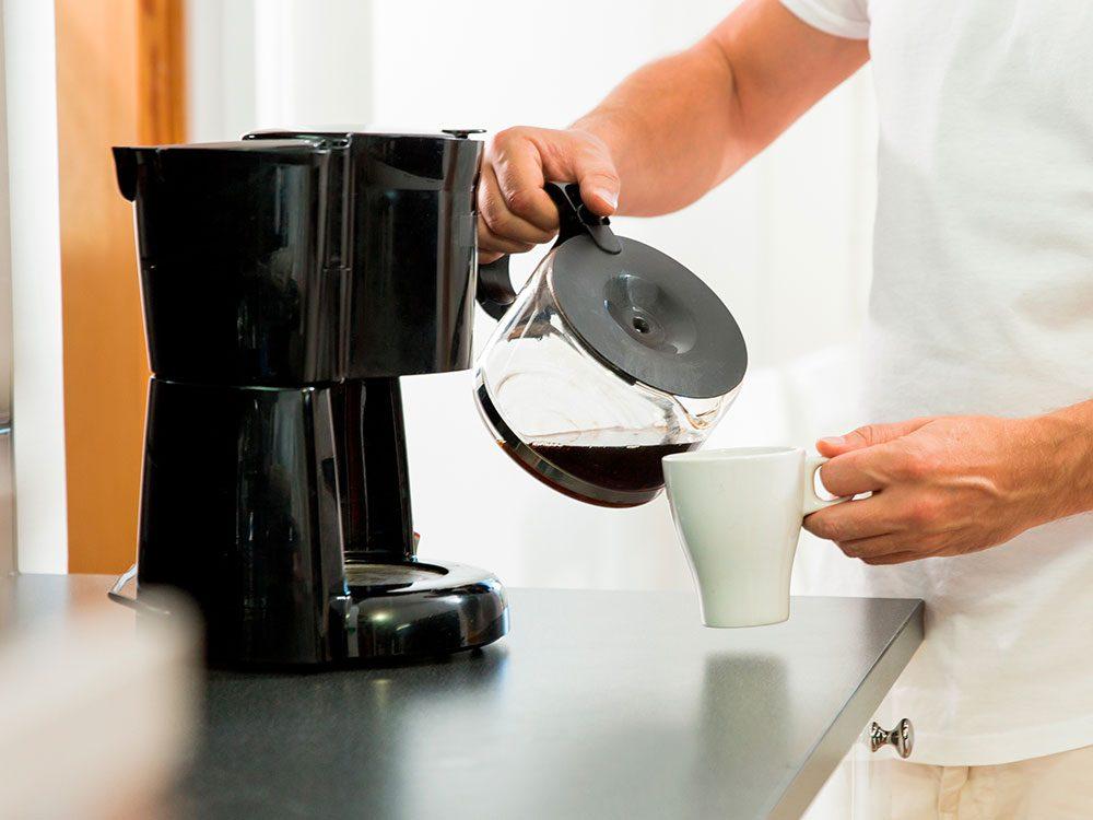 Uses for vinegar - clean coffeemaker
