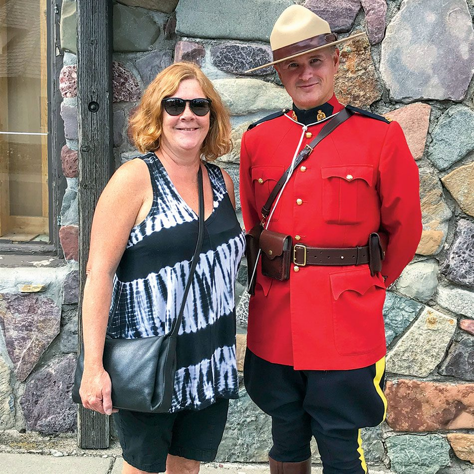 Waterton Lakes National Park Mountie