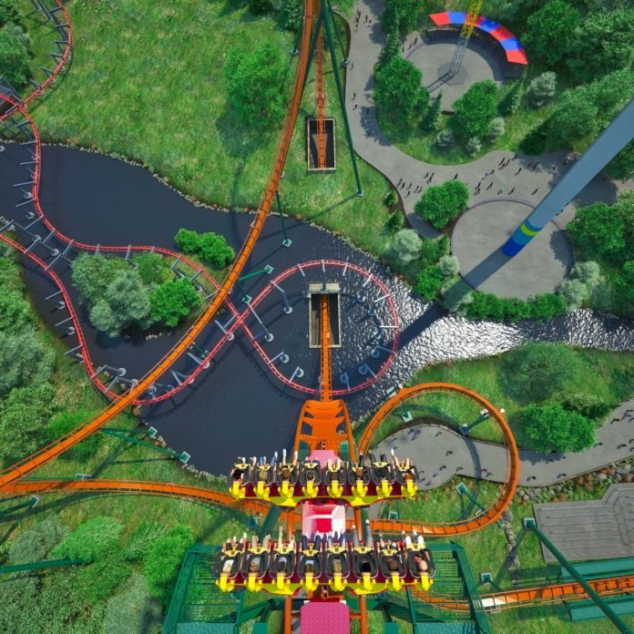 This is the Longest, Tallest and Fastest Dive Roller Coaster in the World