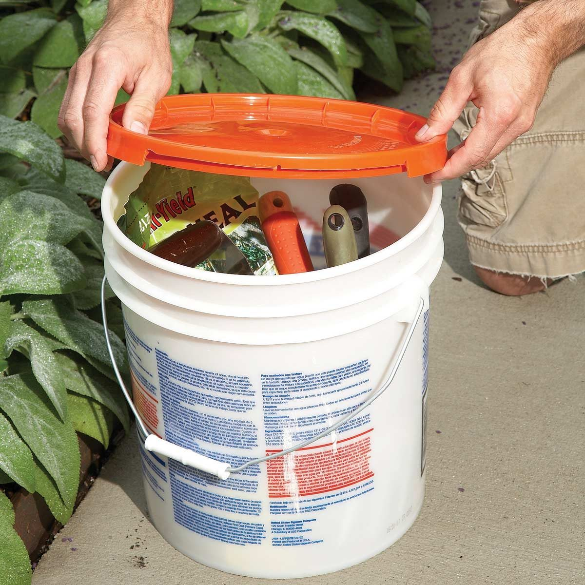 5 gallon bucket tool bucket