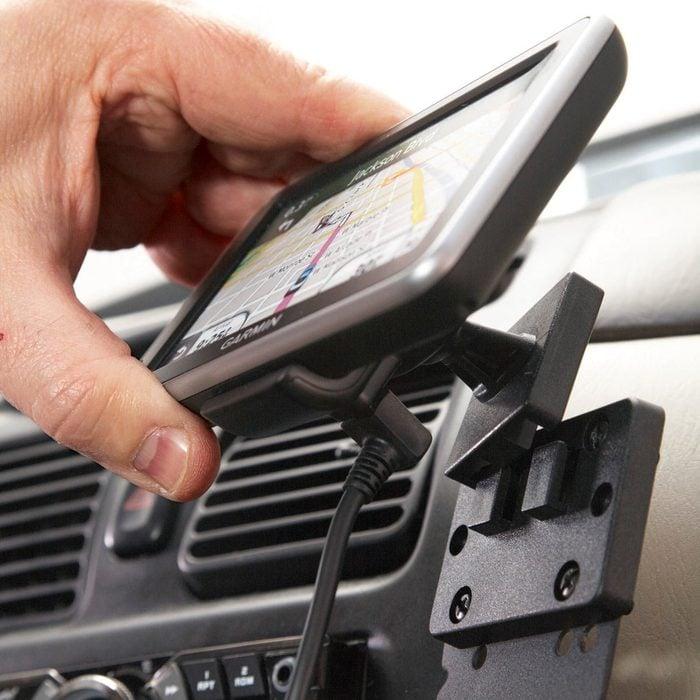 Smartphone holder for car