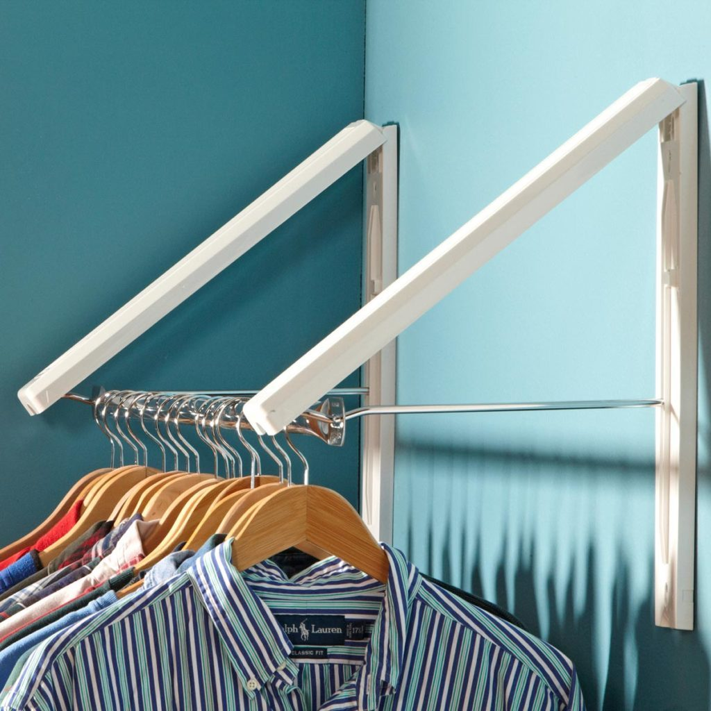 collapsible clothes storage closet