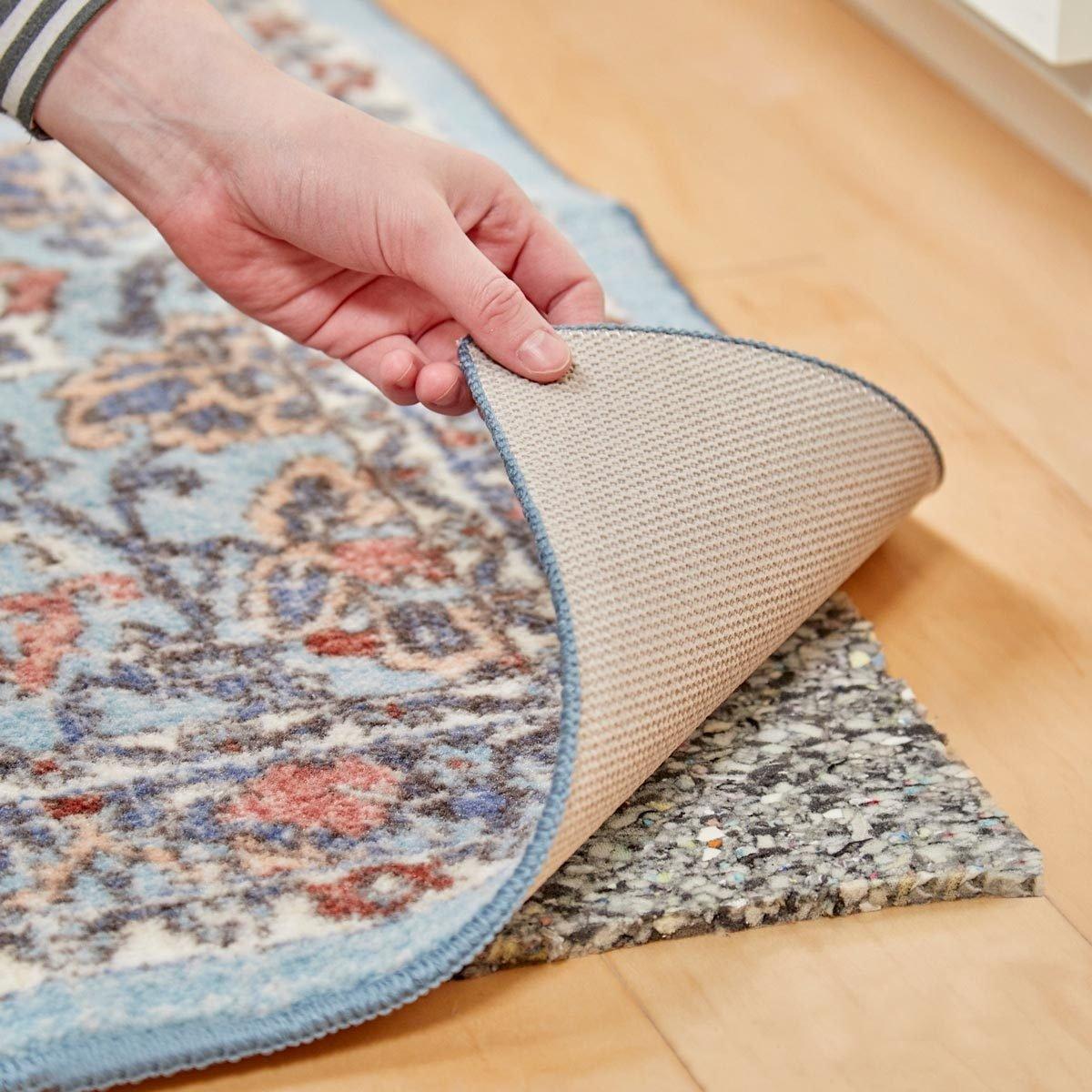 HH carpet padding to make plush rug