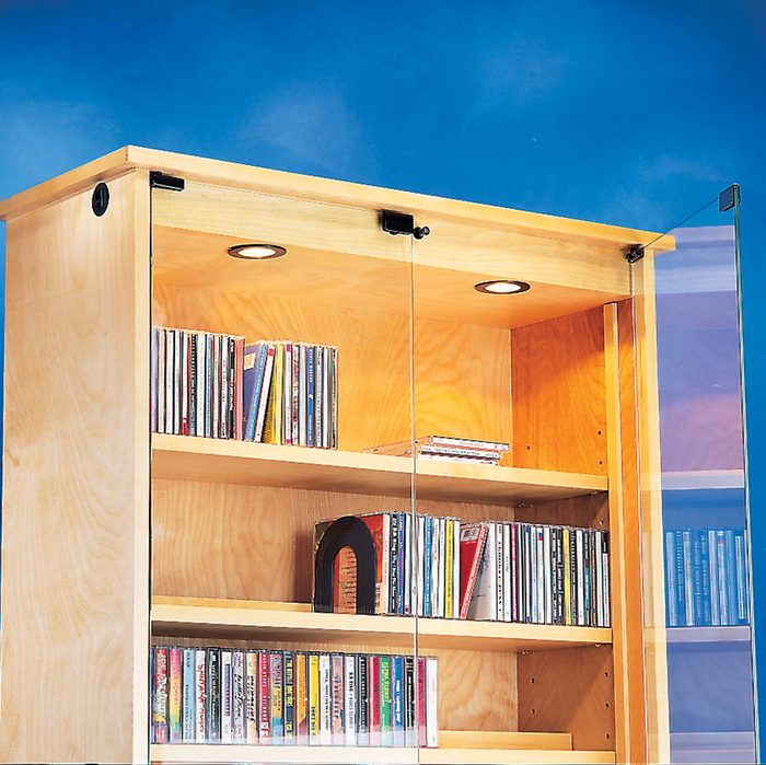 CD and cassette cabinet