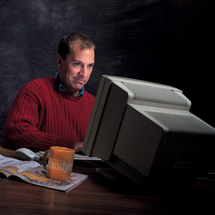 '90s computer monitors