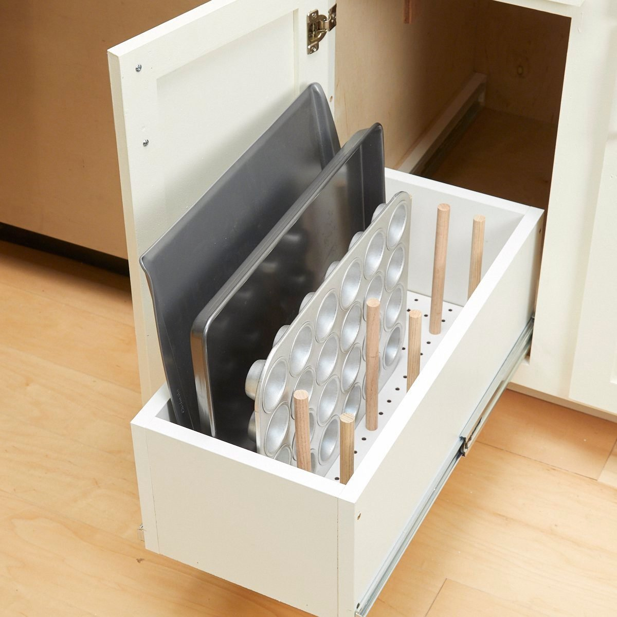 Home organizing hacks Easy Drawer Organizer